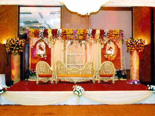 Wedding managments stage decorators flower decorators for Decoration images